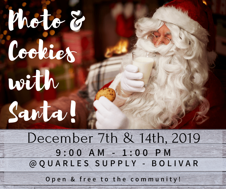 Photo & Cookies with Santa