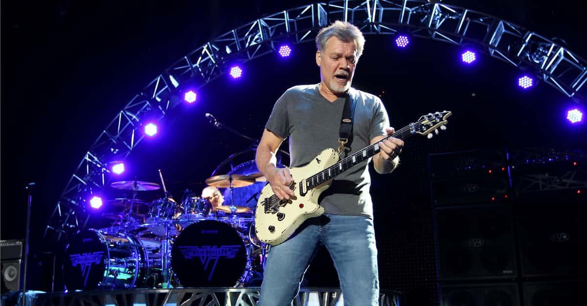 39f23cc7b69 Eddie Van Halen  Brings music to schools!