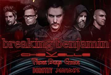 Breaking Benjamin @ BB&T Pavilion 8/9