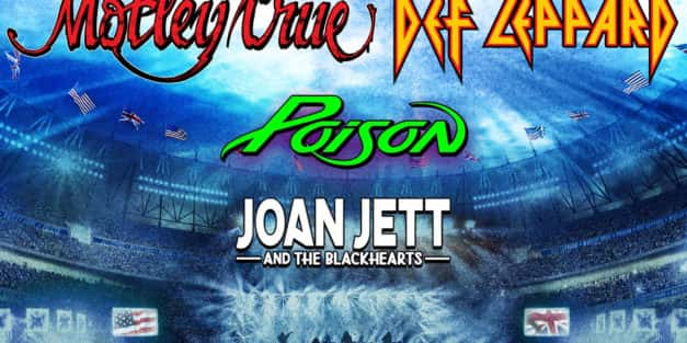 Def Leppard & Motley Crue @ Citizens Bank Park RESCHEDULED TO 7/13/2021