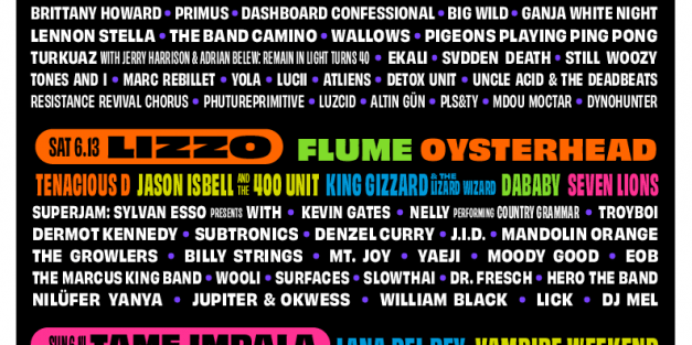 Bonaroo 2020 lineups released
