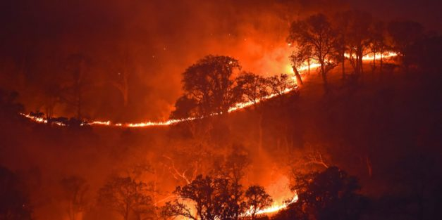 More Than 60,000 Evacuated, Schools Closed In Irvine, Calif. Due To Wildfires