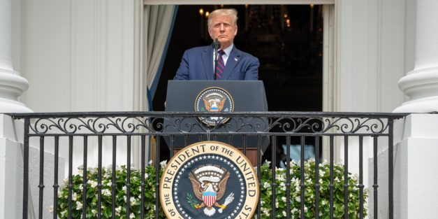 President Trump wishes new administration luck in taped farewell address