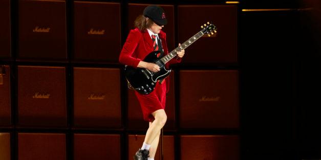 AC/DC riff Inspiration? The toilet..