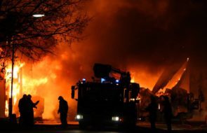 Authorities say that Illinois chemical plant fire could last for days, forcing 100s of home evacuations