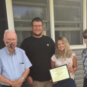 LCBA Beautification Award given to Stark family