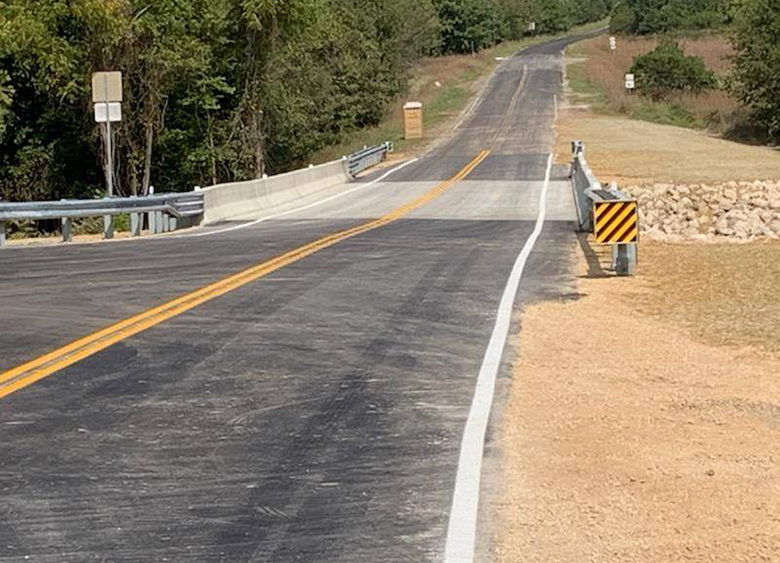 Pike County Route U bridge now open