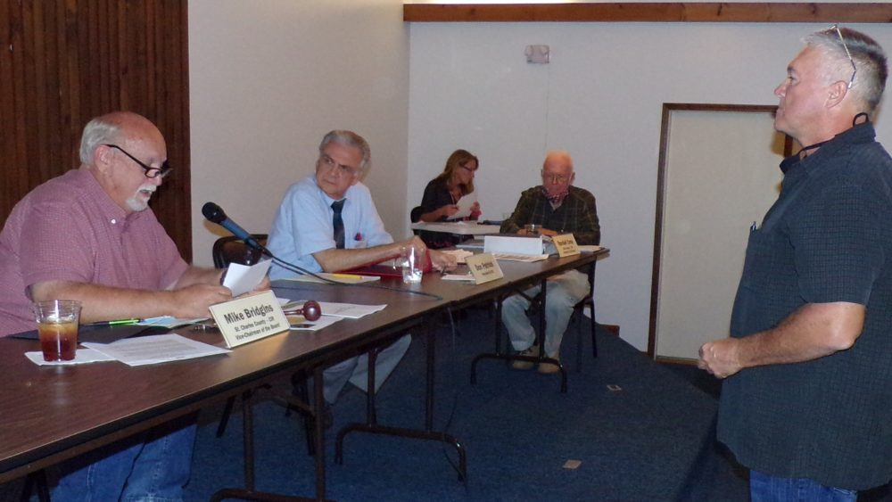 Wallace seated on NECAC Board