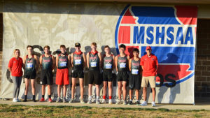 Bobcats cross country season ends at state