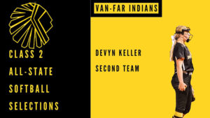 Keller named to Class 2 All-State team
