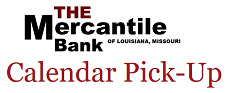 Mercantile Bank calendar pick-up