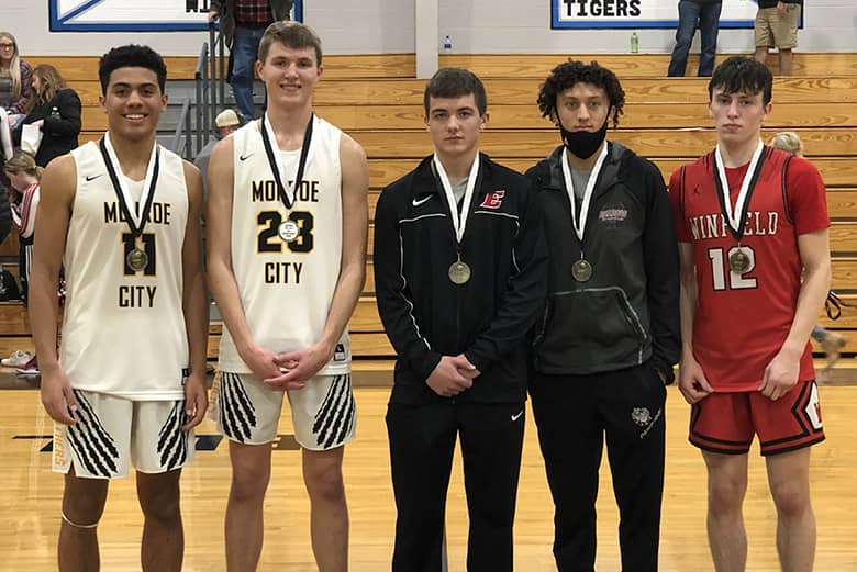 Clopton boys All-Tournament Team