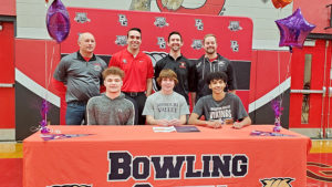 Charlton, LaZear, Starks sign letters of intent