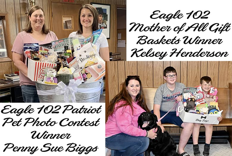 Eagle 102 contest winners announced