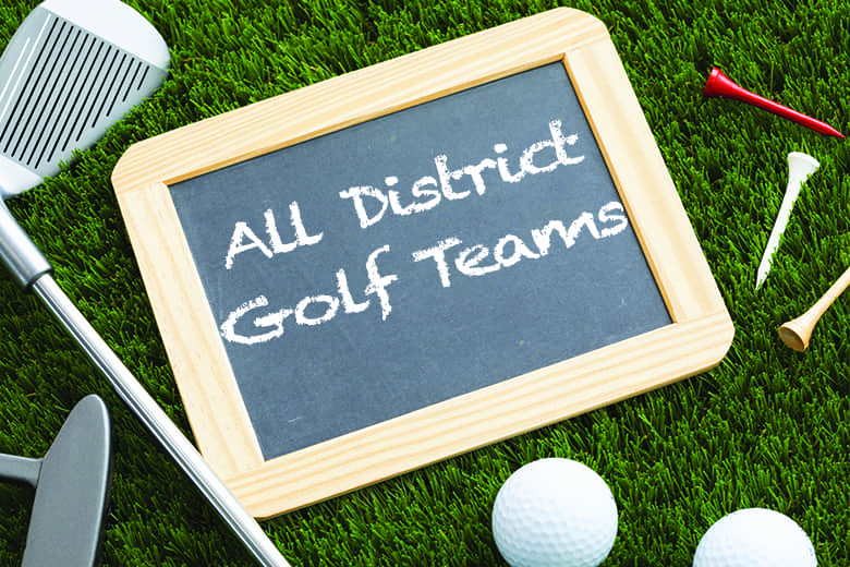 2021 All-District Golf Teams released