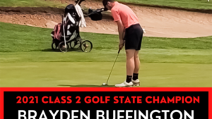 Buffington nabs state golf title
