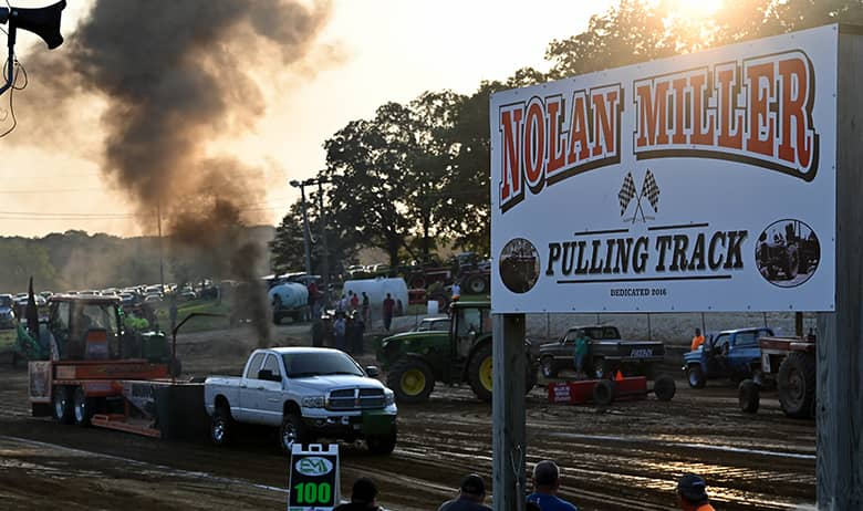 Pike County Fair opens with truck and tractor pull