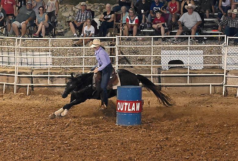 Horsepower ruled at the fair Wednesday night