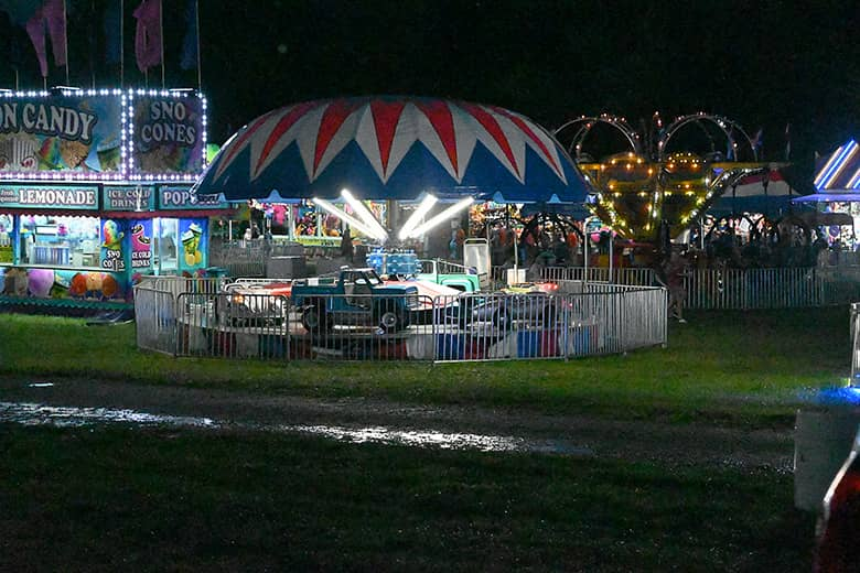 Rain washes out Thursday night events