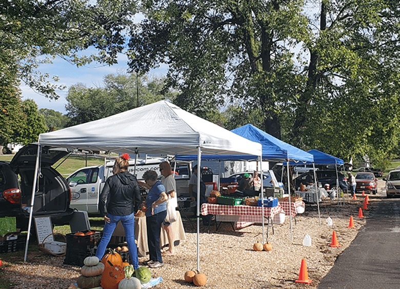 Final LCBA producers only farmers' market of the season