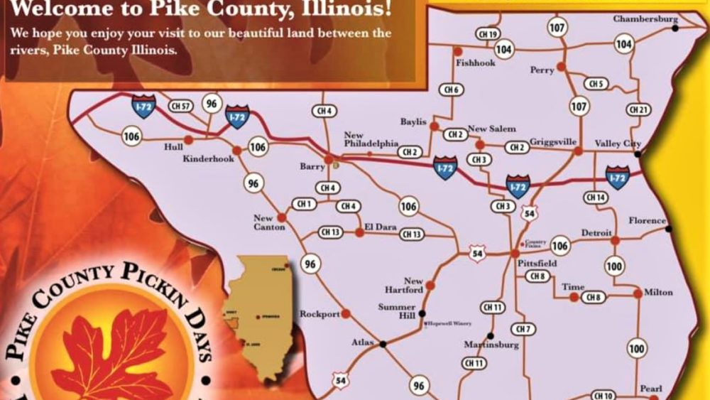 Fall Pickin Days this weekend in Pike County, Illinois