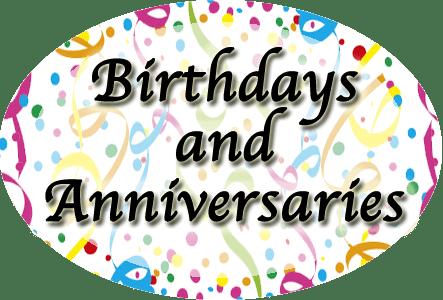 Birthdays-and-Anniversaries
