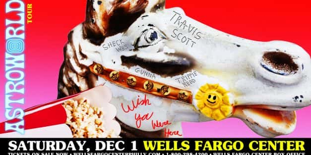 Travis Scott @ Wells Fargo Center December 1st