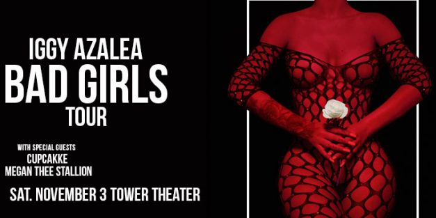 Iggy Azalea @ Tower Theater November 3rd
