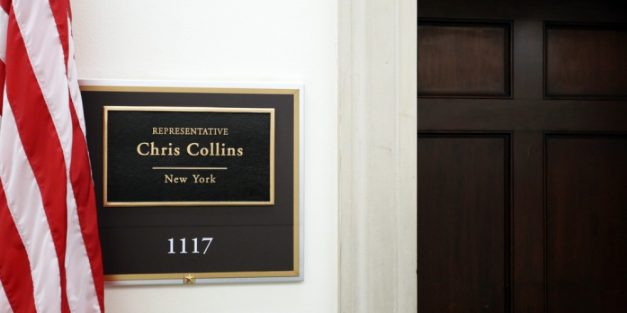 Rep. Chris Collins To Remain On Ballot Despite Indictment