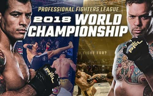 Professional Fighters League 2018 Championship 12/31 at MSG