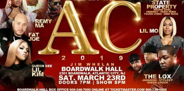LIT in AC @ Boardwalk Hall March 23rd