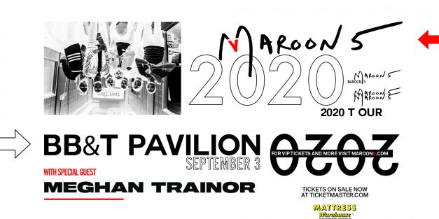 Maroon 5 @ BB&T Pavilion 9/3