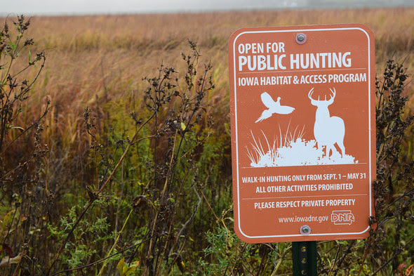 DNR Seeks Landowners To Join Iowa Habitat And Access Program For Hunters | CBC Online - Carroll Broadcasting