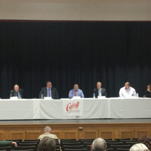 Carroll City Candidates Discuss Public/Private Partnerships And The City's Role Within Those At Wednesday's Forum