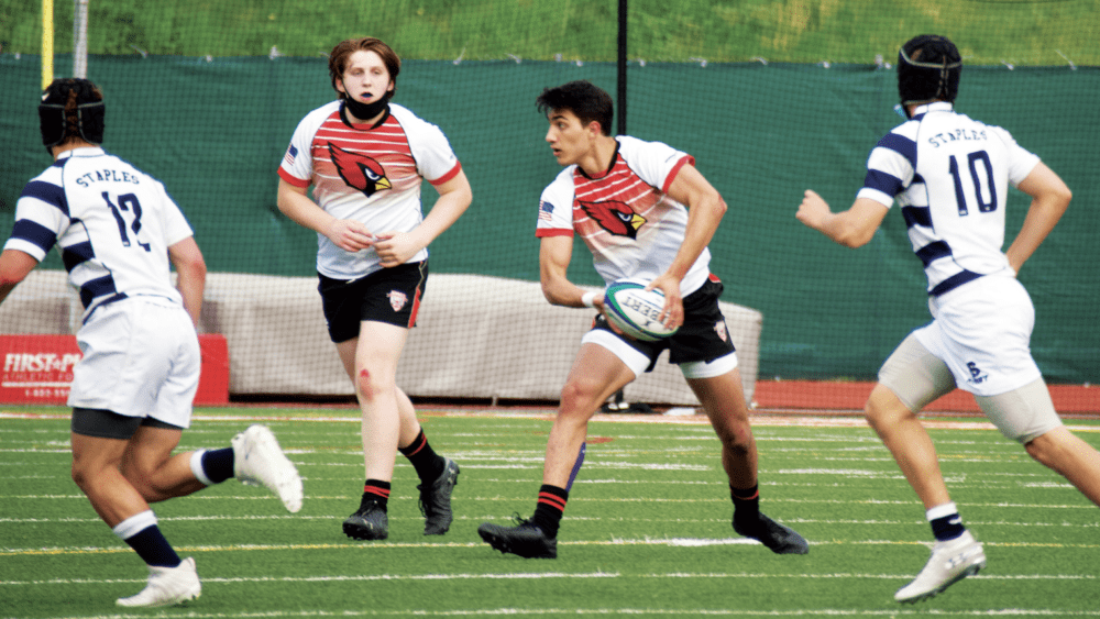 The Greenwich High School rugby team will be in action over the weekend, competing in Kansas City at the High School Boys Rugby Nationals. Greenwich will start play today as the No. 7 seed and play second-seeded Ignatius at 6:30 p.m.
