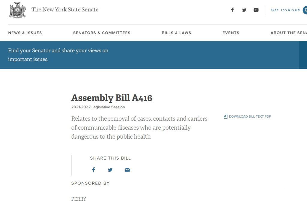 Assembly Bill A416