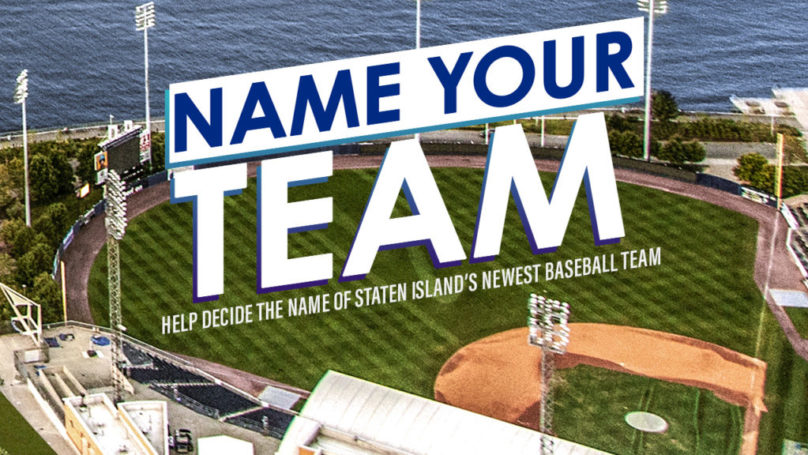 Staten Island – Name Your Team!