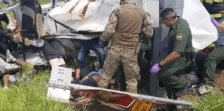 At Least 10 Dead as Van Carrying Migrants Crashes in South Texas