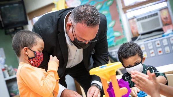 U.S. Education Secretary Supports Mandatory COVID-19 Vaccines