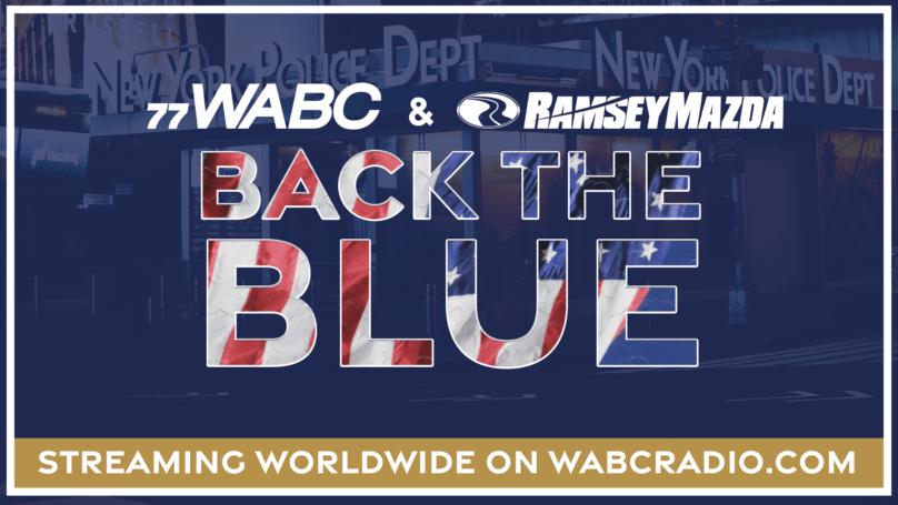 10:30AM WATCH LIVE: WABC Radio & Ramsey Mazda Back The Blue