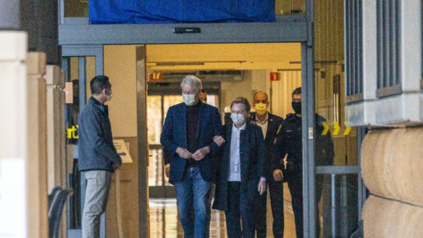 Former Pres. Clinton Back Home in NY Following Hospitalization