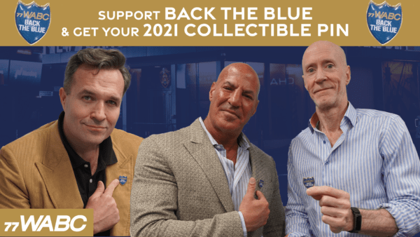 Back The Blue and Get Collectible Pin!