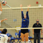 Caldwell Volleyball Falls to Graves in Regular-Season Finales