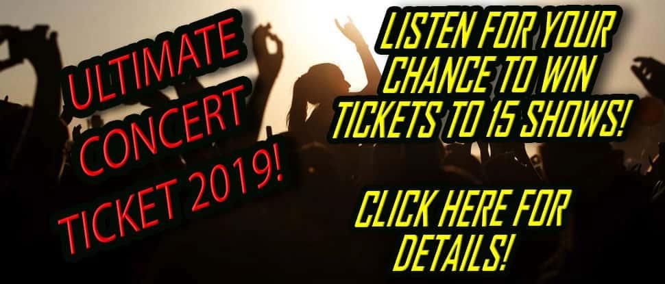 Ultimate Concert Ticket 2019! | CLASSIC ROCK 92 1 WBVX LEXINGTON