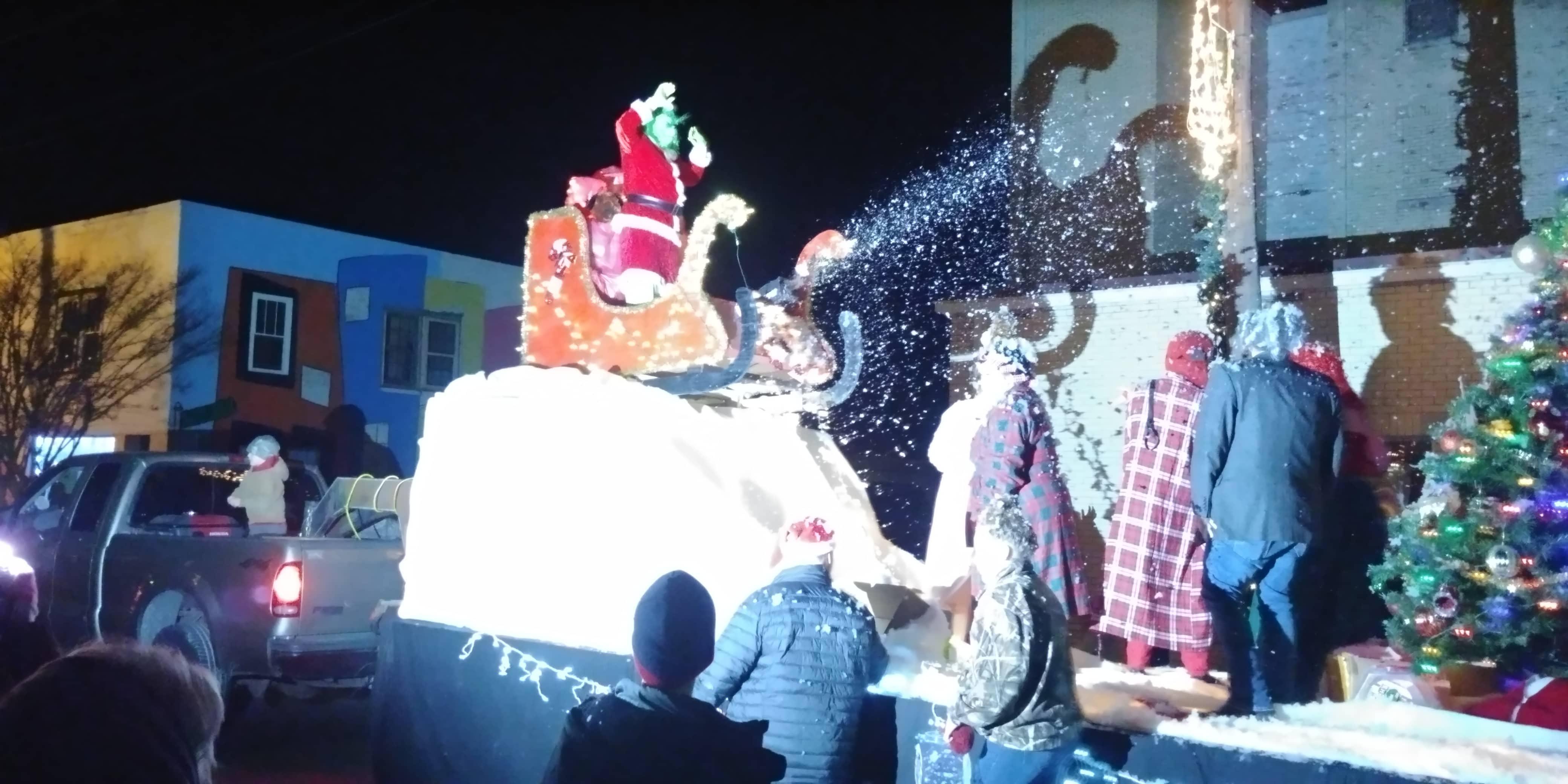 Batesville Christmas Parade Grinch