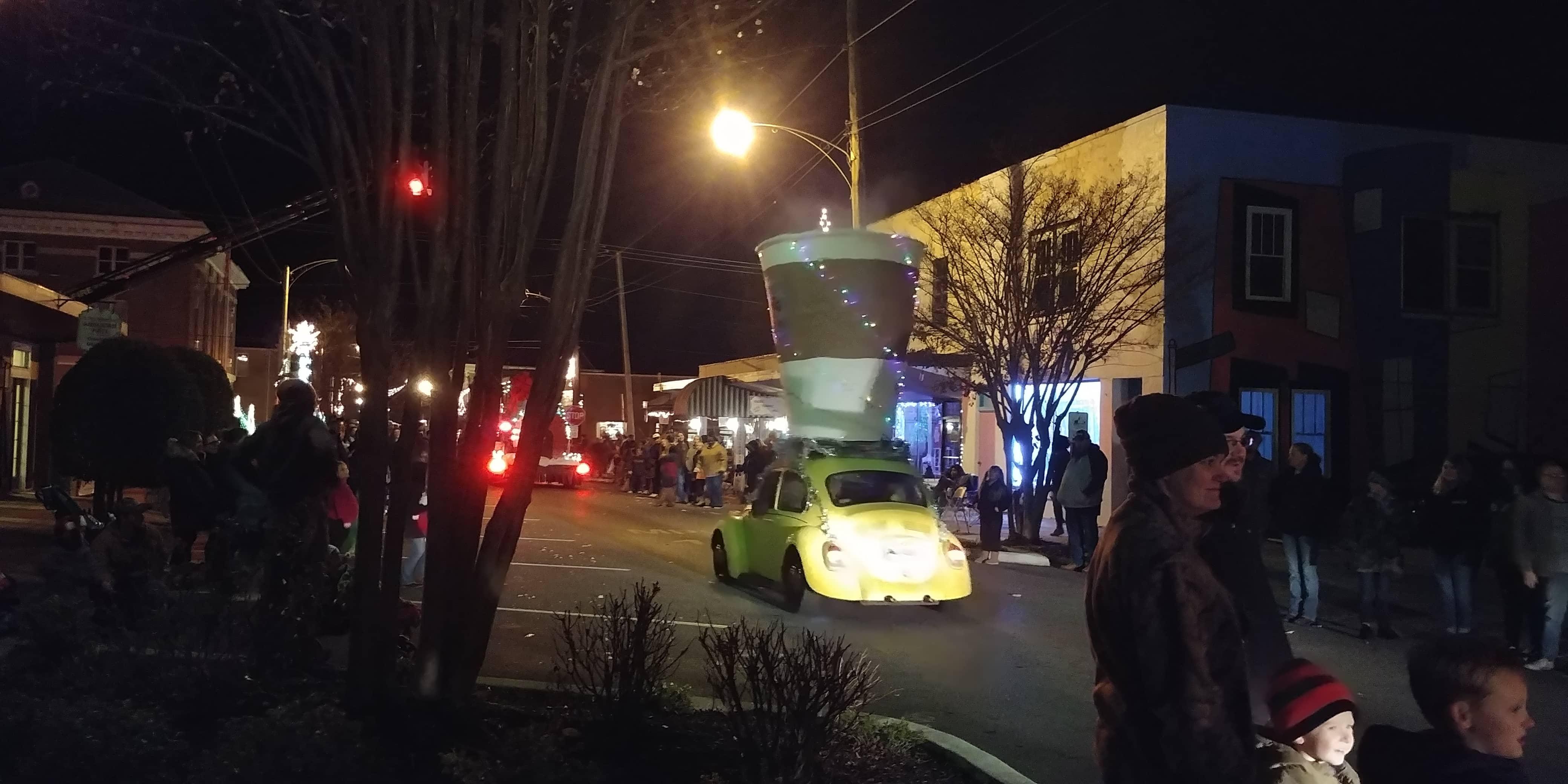 Batesville Christmas Parade Pinto VW