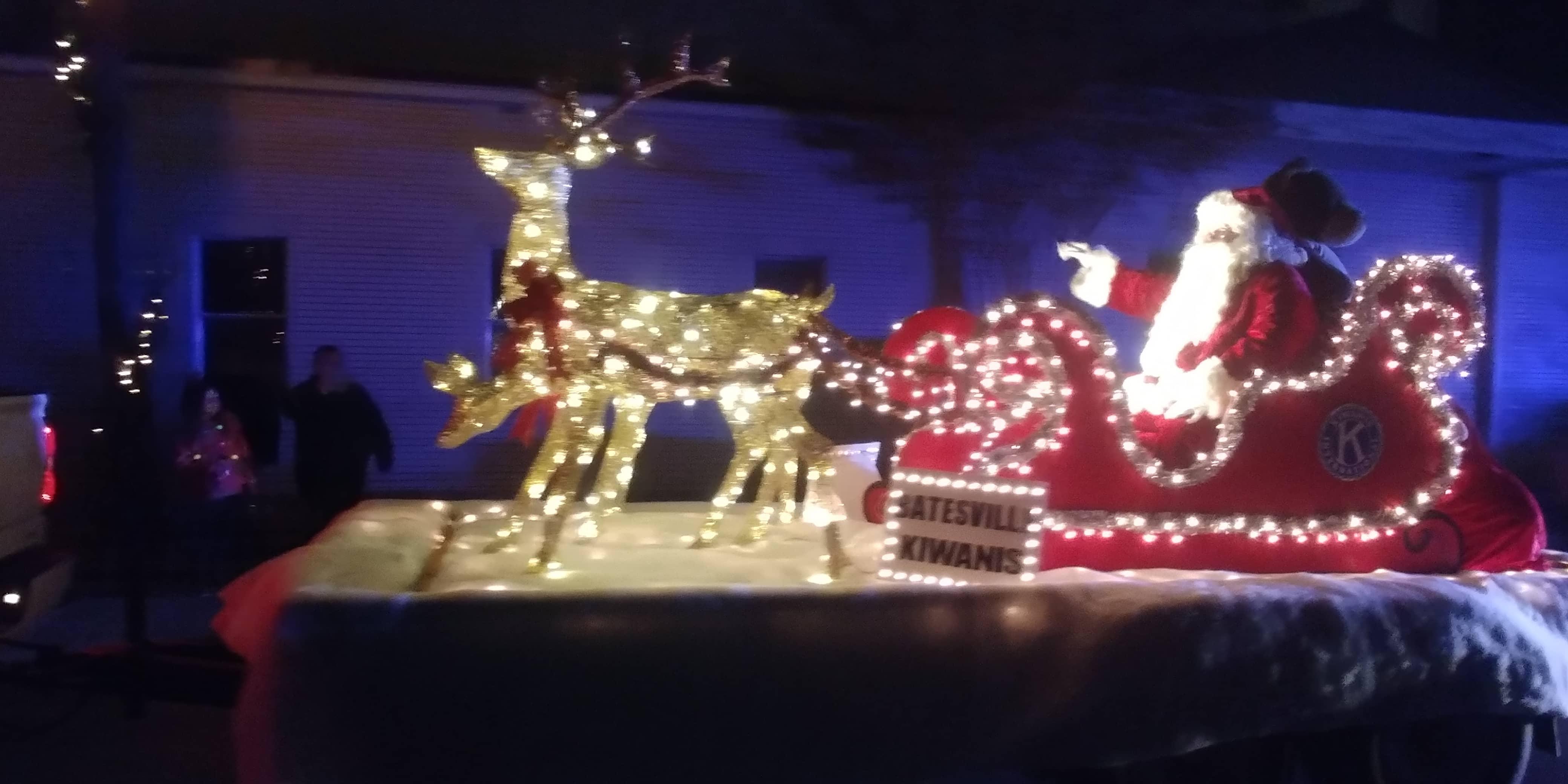 Batesville Christmas Parade Santa