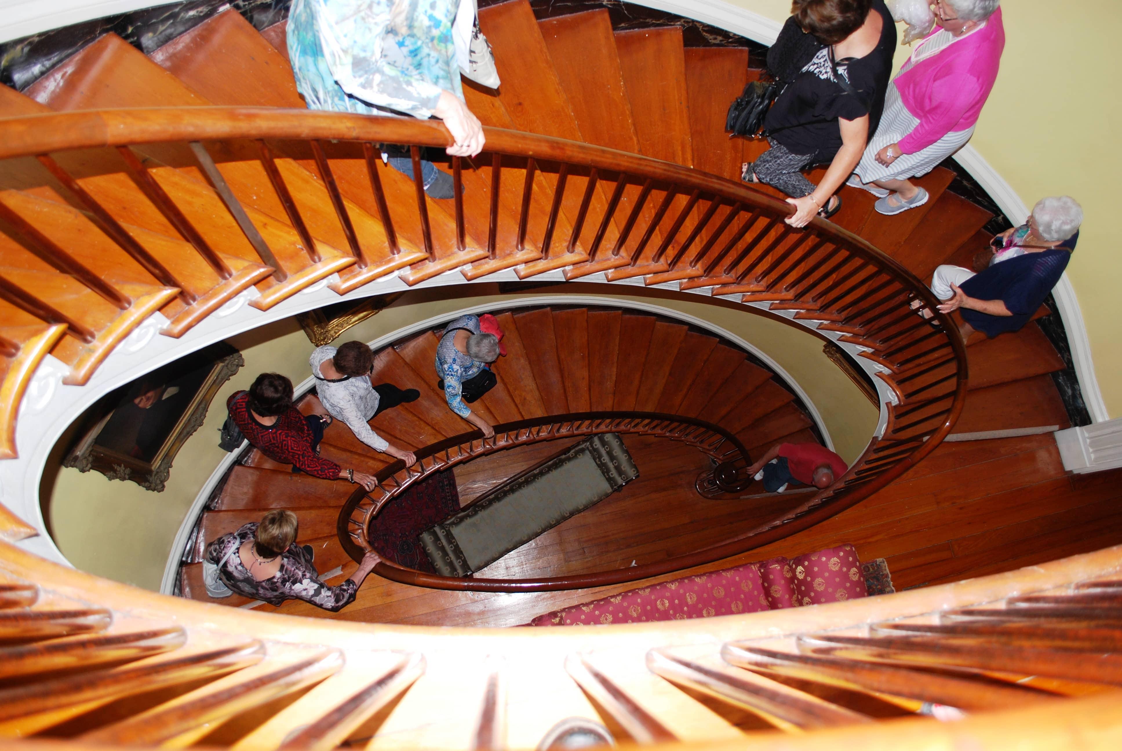 Natchez 6 - Choctaw Hall Staircase - Sept 2018.jpg