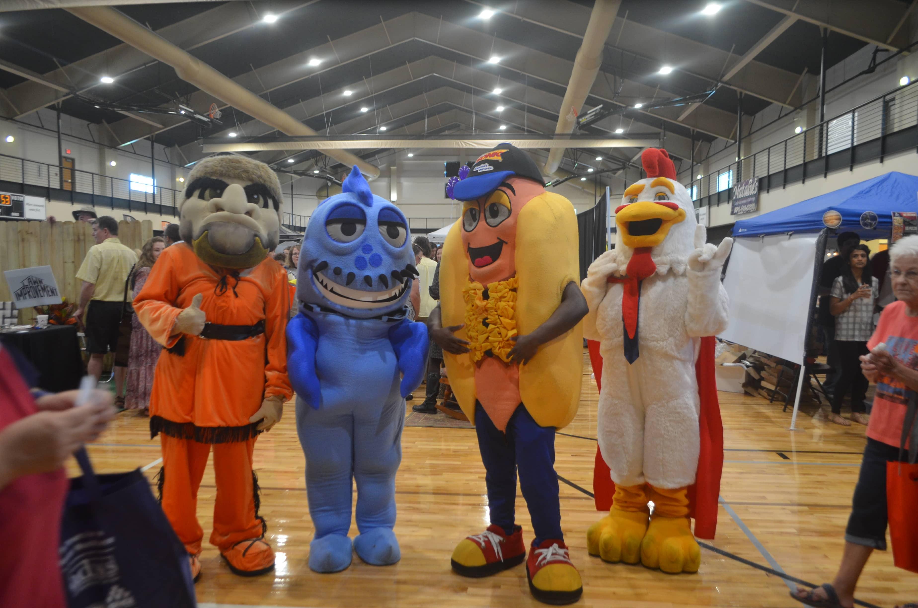 Expo mascots