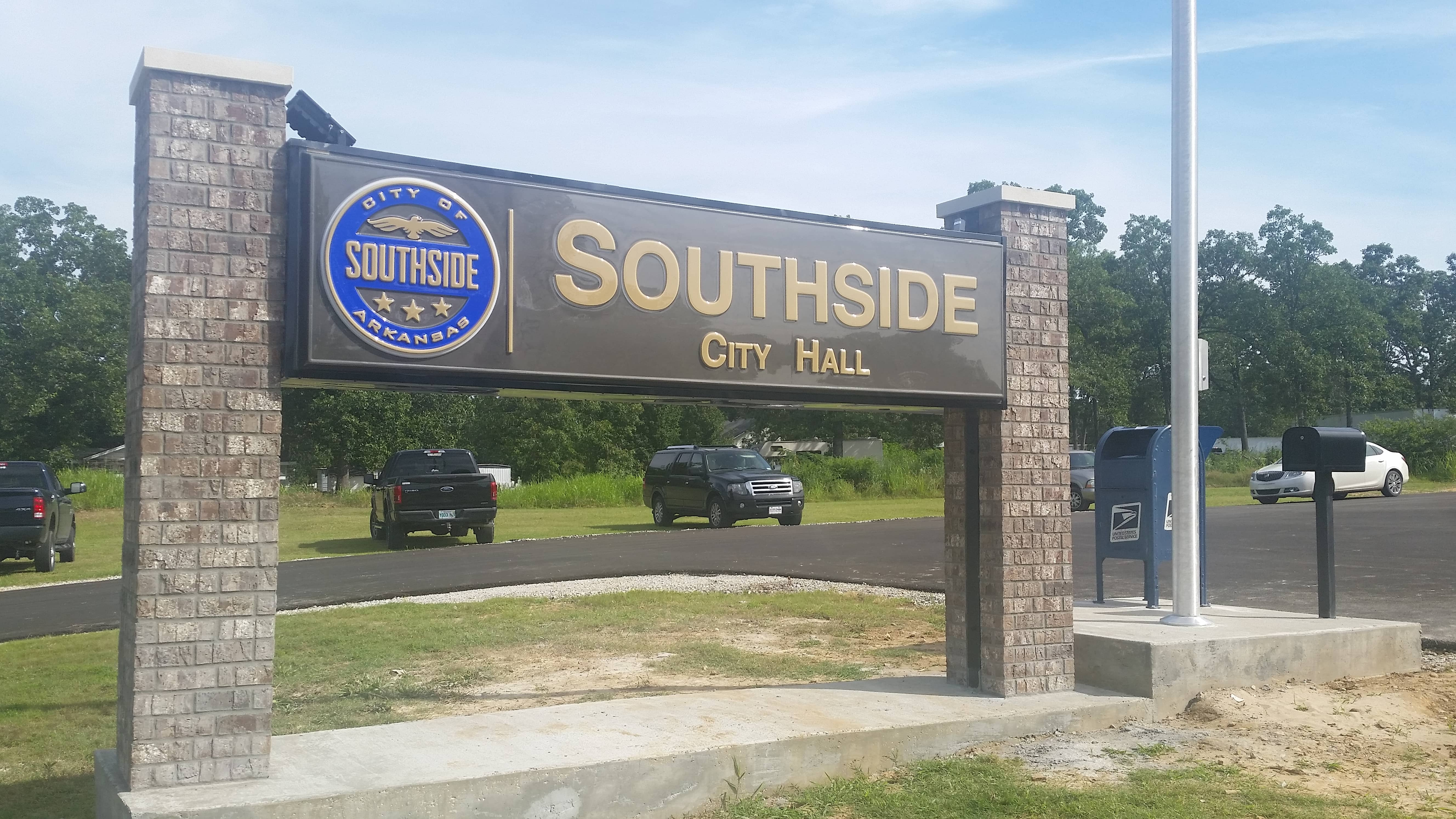 Southside City Hall sign